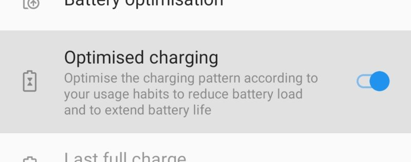 Optimised Charging