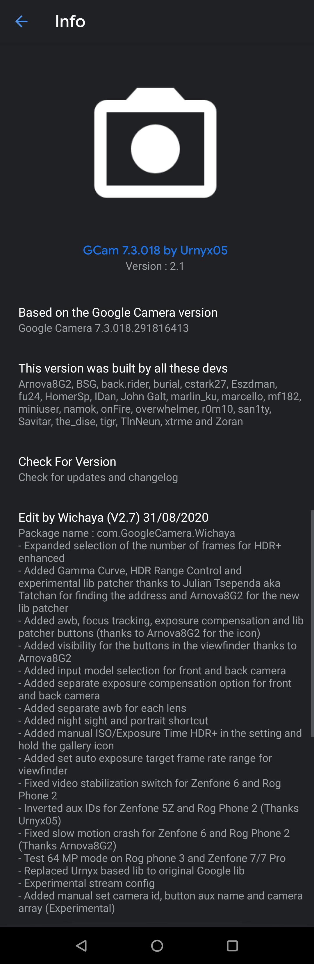 GCam_7.3.018_Urnyx05-v2.1_Wichaya v2.7.3