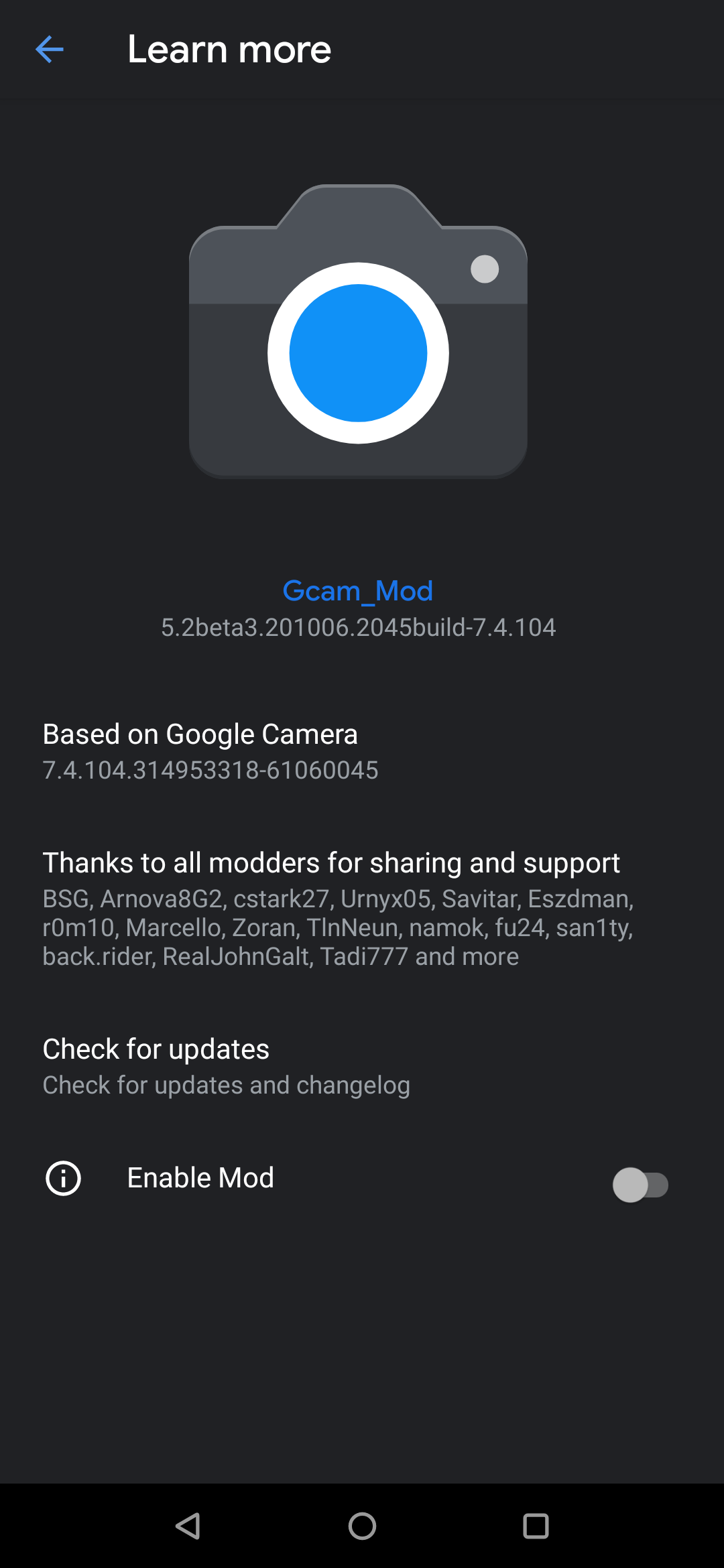 GCam-5.2beta3.201006.2045build-7.4.104
