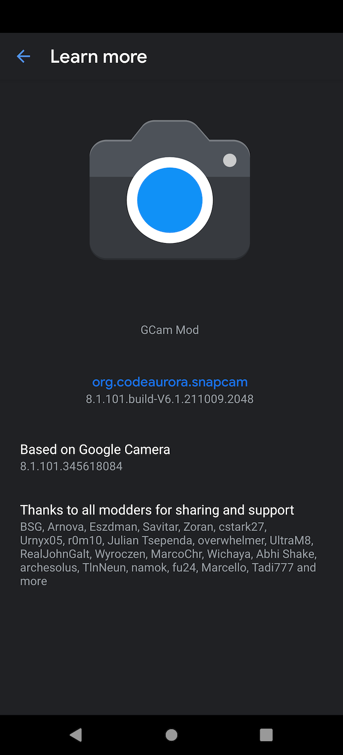 Gcam 8.1.101 Version Stable 6.1 (2)